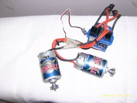 traxxas evx-2 esc +two 550 motors
