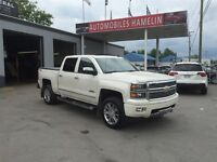 2014 Chevrolet Silverado 1500 High Country cuir brun gps toit co
