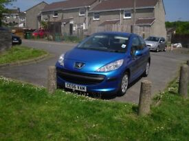 Need a quick sale Peugoet 207 2006. Good little runner up for £300 will take lower sensible offer