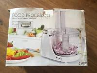 Brand new in the box food processor