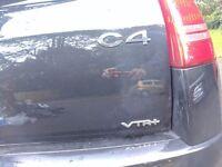 Citroen C4 VTR+ 1.6 petrol
