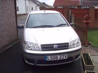 For sale Fiat Punto Active car.