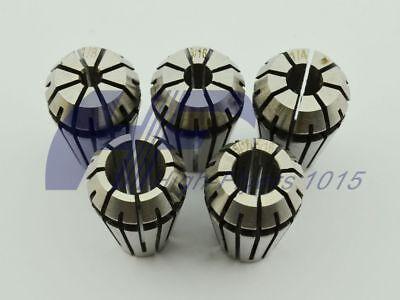New Precision Er16 Er-16 5 Pcs Spring Collet Set 18 - 38 With 316 14 516