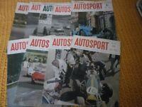 Vintage Autosport Magazines
