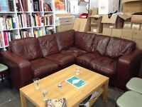 Free Corner Sofa for Collection, Leatherette