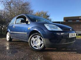 Ford Fiesta 1.2 Petrol Low Mileage Long Mot Full Service History Cheap To Run And Insure !!!