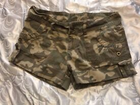 Girls/Womens combat shorts