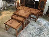 Nest of tables and coffee table