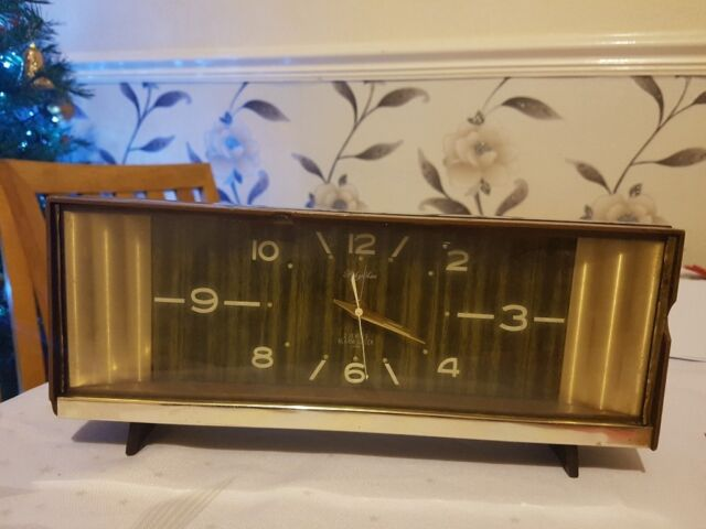 Vintage Rhythm 2 Jewels Alarm Clock Working Made in Japan  | in Leicester,  Leicestershire | Gumtree