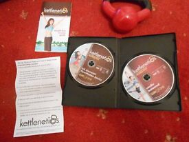 4lb Kettlebell and workout DVD