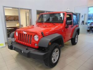 2017 Jeep Wrangler Sport*4X4*V6*CRUISE*MANUEL*WOW***