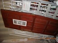 Hardwood door
