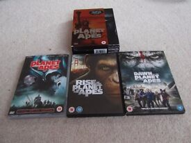 Planet of the Apes DVDs @ £8.50