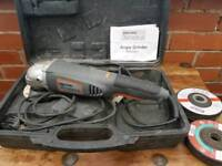 Challenge angle grinder with blades