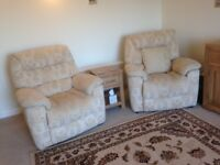 Two Longe Chairs very good condition. Clean.