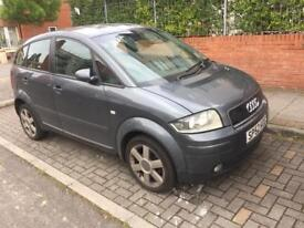 AUDI A2 1.4Diesel 52 plate 113500 milage Good condition Mot May 2019 and taxed