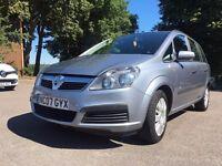 Vauxhall Zafira 1.6 i 16v Life 5dr - Only 68K Miles