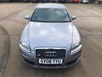 STUNNING CONDITION 2008 AUDI A6 S-LINE 2.0TDI AUTO,SAT NAV,DRIVES LIKE NEW,LOW MILES FULL HISTORY