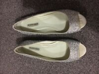 Benjamin Adams London crystal detail shoes (size 6)
