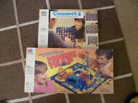 Mousetrap and Connect 4 games