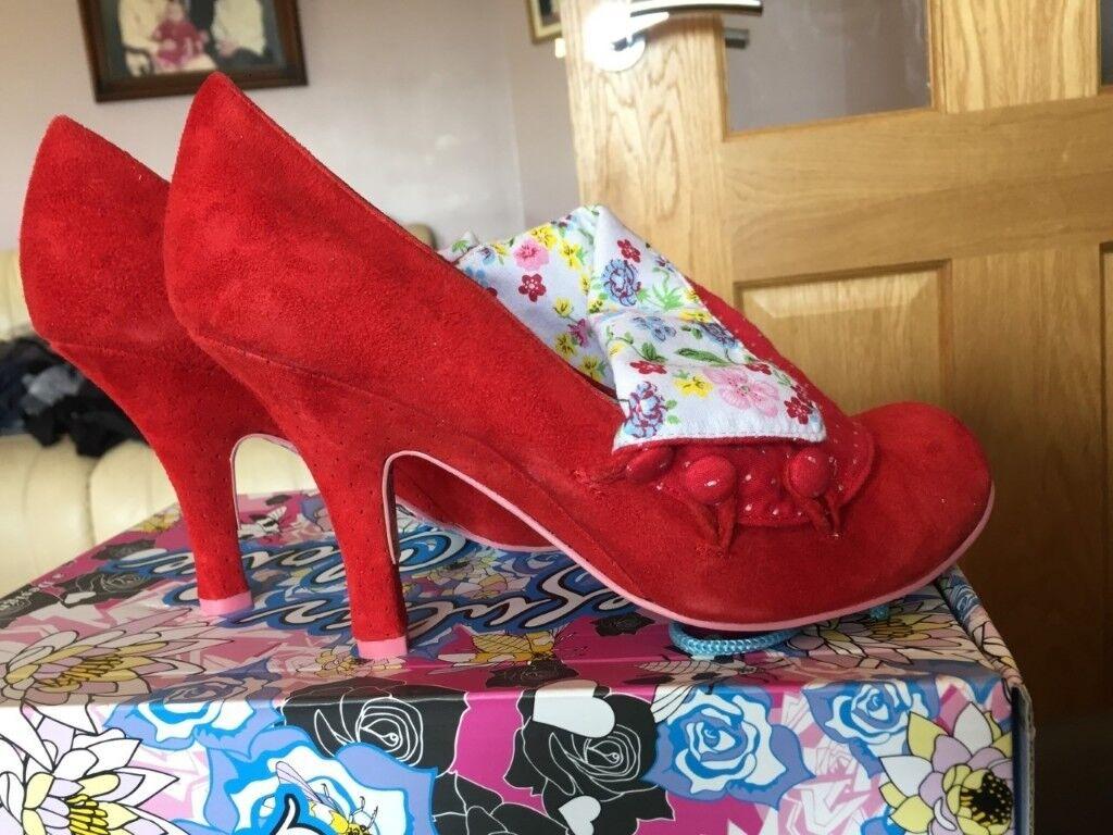 Irregular Choice Ladies Schuhes, in box, original box, in Größe 40 (UK 7 ... 0050e1