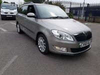 ESTATE 2010 SKODA FABIA 1.6 TDI CR 105 ELEGANCE ONLY £20 ROAD TAX ONLY 54000 SERVICE HISTORY