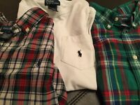 Genuine Polo Ralph Lauren shirts.