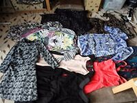 Womens clothing joblot/carboot size 10-14
