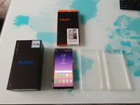 Unlocked Samsung Galaxy Note 8 Dual Sim, 1 month old, mint, with cases