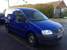 VW Caddy Van - NO VAT - low mileage - SOLD
