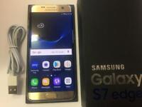 Samsung Galaxy S7 Edge SM-G935F 32GB Gold Platinum Unlocked