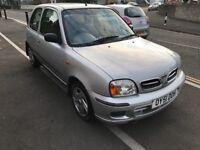 2001 Nissan Micra SE 1.3 petrol, 12 Month MOT cheap car