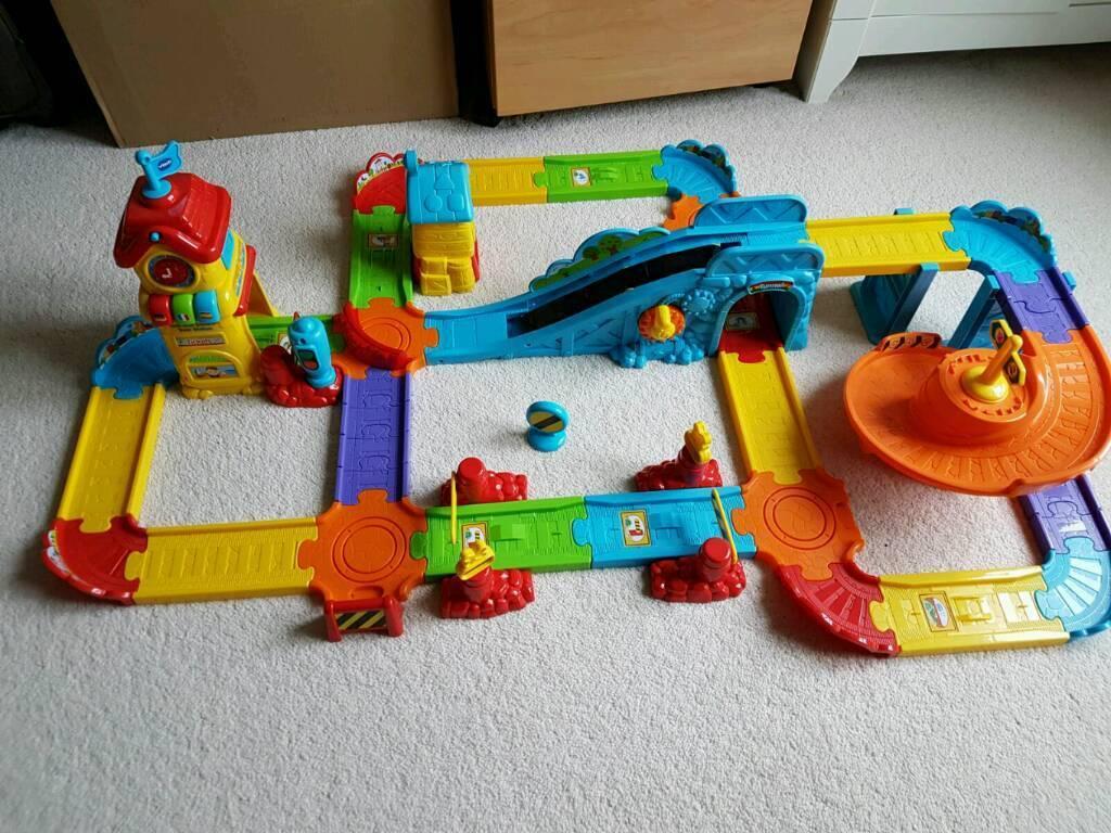 Boxed VTech baby train station set