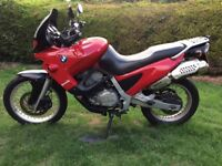 BMW F650 with extras