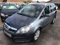 2006/06 VAUXHALL ZAFIRA 1.8i 16V ACTIVE 5DR 7 SEATER FAMILY MPV,STUNNING LOOKS,DRIVES WELL