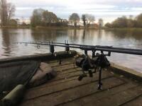 Full carp set up 🎣