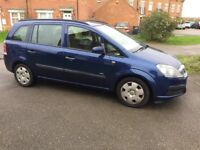 Vauxall Zafira 1.6 2006 Excellent Condition