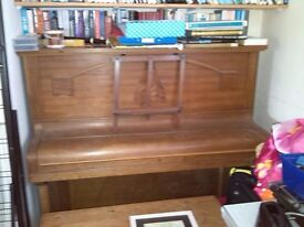 Piano - upright, wooden, ideal for beginner