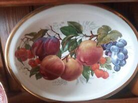 Argyle fruit china bowls
