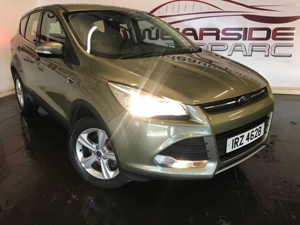 Ford Kuga   Tdci Zetec Station Wagon Dr Green