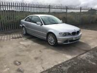 2005/05 BMW 320D SE COUPE AUTOMATIC 12 MONTHS M.O.T FULL SERVICE HISTORY SAT NAV GREAT SPEC !!!
