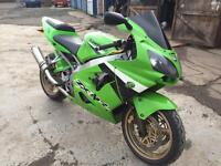 Kawasaki ZX9R F2P.. 53 Plate.. private Plate stays with bike