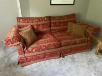Duresta 3 seater sofa(matching chair available see separate posting)