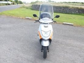 2007 HONDA LEAD SCOOTER. 102CC. ONLY 850 MILES, MOT UNTIL 20TH JULY,2017. £850.