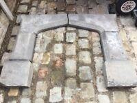 Traditional Stone Fireplace Surround
