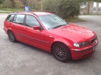 BMW 3 SERIES 320DSE TOURING 52 PLATE
