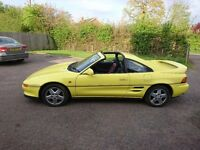 Toyota MR2 GTi T-bar, running project