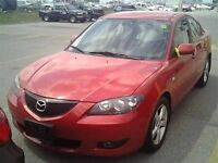2006 Mazda MAZDA3 GT** ACCIDENT FREE* 3 YEARS WARRANTY**