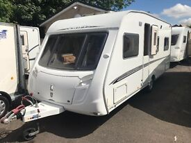 SWIFT CHALLENGER 2007- FIXED BED- 4 BERTH