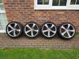 ROTA AUDI 18'' ALLOYS WITH TYRES